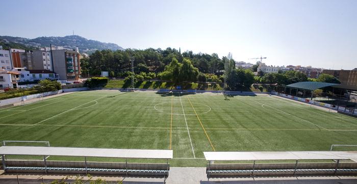 campo de futbol el moli de lloret de mar