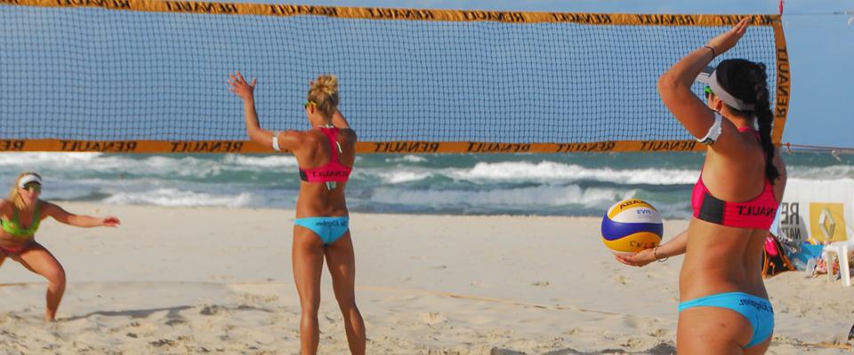 Sports sur la plage