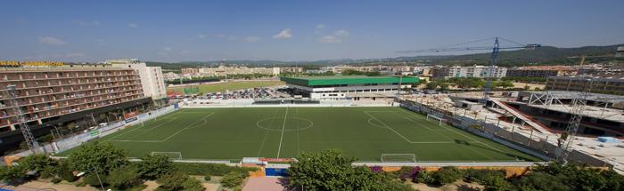 campo de futbol municipal de lloret de mar
